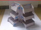 Caja de presentación del cartón del embalaje del color del rectángulo de regalo del papel acanalado (D25)