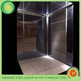 O aço inoxidável decora a cabine do elevador dos produtos feita em China