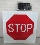La prohibition passent par le Signage solaire de circulation (le panneau solaire encastré)