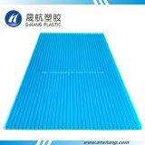 紫外線上塗を施してある多彩な軽量のポリカーボネートのプラスチック日除けシート