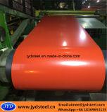Aço galvanizado revestido Coils/PPGI de Constraction cor material