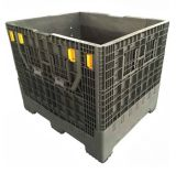 Коробки складных пластичных контейнеров паллета хранения складные