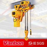 Alta qualidade elétrica da grua Chain da baixa velocidade da altura livre 5t Singlel
