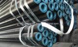 Tubulação de aço sem emenda de Sch 40, tubulação de aço de Sch 20, linha tubulação preta líquida Sch STD