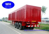 Del cargo acoplado semi, Van Box Trailer del surtidor de China