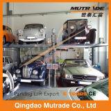Garage de estacionamiento mecánico simple del coche de 2 suelos de los automóviles
