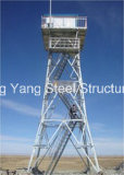 Auto - torre de apoio do aço da estrutura da observação