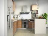 Melamin-Vorstand-modulare Küche-Möbel des Grad-E1 im Backen-Ende (zg-040)