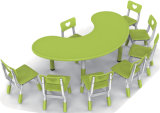 Tabela plástica de Chindren da mobília de 2016 pré-escolares