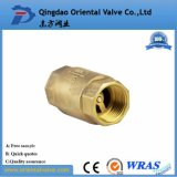 Dn15-Dn100 Válvula de retenção de mola de latão de alta qualidade com núcleo de latão