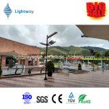 Vendita! 5W-80W IP65 esterno ha integrato tutti in un indicatore luminoso di via solare del sensore di movimento LED con Palo