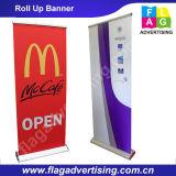 Einstellbare Benutzerdefinierte Flex Banner Stand, Banner Ständer Roll-up, Pull up Banner Ständer