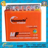 Mf Motorcycle Batteries 12n9-L 12V9ah Fast Charging Motorcycle Batteries China Motorcycle Battery 2016 herauf Selling