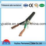Câble pur de gaine de PVC d'en cuivre de qualité---Tsj