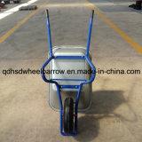 Курган колеса Graden с материальной тачкой инструмента Yardwork подноса (WB6414B)