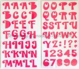 Etiquetas engomadas grandes de la espuma de los alfabetos para Scrapbooking y Cardmaking