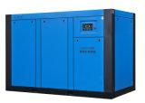 Compressore d'aria industriale di raffreddamento della Gemellare-Vite del vento