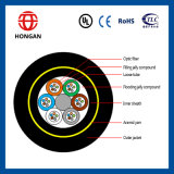 Cable dieléctrico en base de la alta calidad ADSS 4