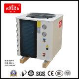 Calentador de agua de la pompa de calor de la fuente de aire de Evi, calentando