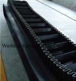 Nastro trasportatore di gomma del muro laterale della trasmissione di gomma del nastro trasportatore