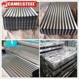 Feuille ondulée galvanisée par Camelsteel de la Chine
