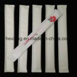 Baguettes en bambou remplaçables en bambou de placage semi emballé en papier pour des sushi
