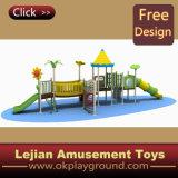 1176 Classical Kids plastique en plein air Aire de jeux pour le parc (X1224-3)