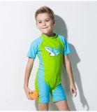 &One-Часть Wetwear мокрой одежды втулки Lycra малыша короткая