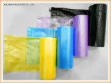 PET Abfall-Beutel-Wegwerfabfall-Beutel-Rollenplastiksortierfach-Beutel