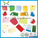 Kleidungs-Aufkleber-Drucken-Zoll gedruckter Kennsatz