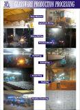 Frasco de vidro do cilindro desobstruído da alta qualidade para o mel (CHJ8170)