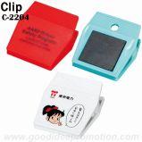 Clip de papel magnético de la mini dimensión de una variable plástica promocional de la píldora