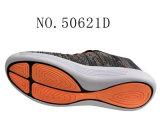 Trois chaussures de sport de femmes de Knit de mouche de couleur