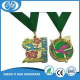 Medalla de encargo del deporte del grabado de las muestras libres