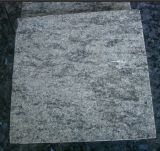 Green verde-oliva Granite Tile Polished para Flooring