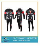 Sublimation Impression Coolmax manches longues Homme Maillot Cyclisme / Cyclisme Porter