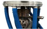 Rodillo auto que cambia la pista rotatoria estirador que sopla de la película de la coextrusión de 3 capas