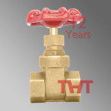 Screw Thread Yellow Brass Gate Valve