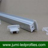 Profilo di alluminio caldo del venditore LED per l'indicatore luminoso del nastro del LED
