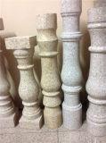中国石の手すりの花こう岩の手すりの石階段Balusterの価格
