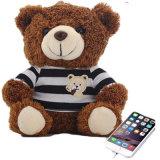 최상 견면 벨벳 장난감 힘 은행 장난감 곰 디자인 5200mAh 힘 은행 힘 은행