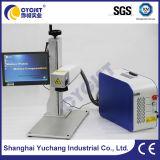 Tischplattenlaser-Markierungs-Maschine für Edelstahl-Materialien
