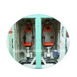 Máquina dobro vertical do cabo do encalhamento da parte traseira da bobina