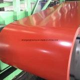 El color primero cubierto galvanizó la bobina de acero de Steel/PPGI/Gi