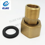 1/2 Duim Length 100mm Brass Adaptor met EPDM Gasket
