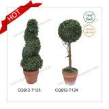 47cm 2017 Allerlei De Kunstmatige Topiary Kunstmatige Ornamenten van Plasatic van de Boom van Bomen Spiraalvormige