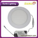 12W 정연한 라운드 LED 가벼운 위원회 LED 위원회 빛