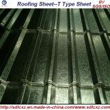 Folha de aço galvanizada mergulhada quente da telhadura e bobina de aço galvanizada