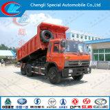 Dongfeng頑丈なSinotruk 6X4の10車輪270HP 18m3 10t 15ton Dump Truck