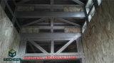 Villa chiara moderna prefabbricata dell'acciaio dell'indicatore luminoso della Camera della struttura d'acciaio